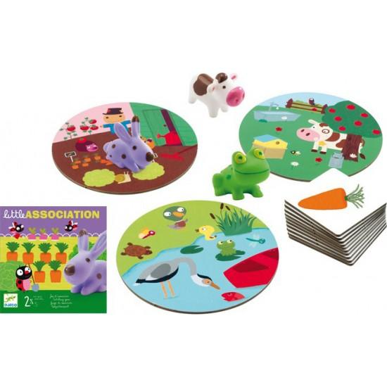 Djeco Επιτραπέζιο το περιβάλλον των ζώων