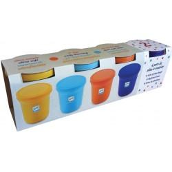 Djeco 4 Πλαστοζυμαράκια 'Πλαστελίνη - Φυσικά χρώματα'