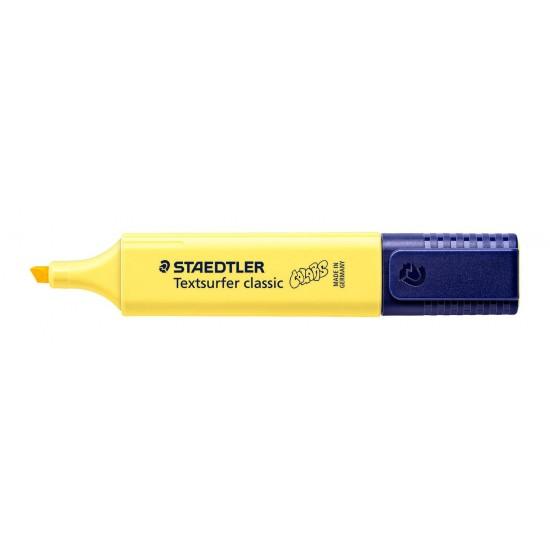 Μαρκαδόρος Υπογράμμισης Staedtler Textsurfer Classic Sunflower yellow 5mm