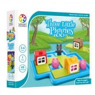 SmartGames επιτραπέζιο παιχνίδι - Τα τρία μικρά γουρουνάκια  - 3 έως 6 χρονών