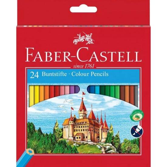 Ξυλομπογιές Faber-Castell 24Χρώματα