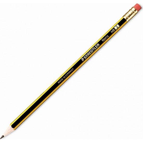 Μολύβι HB Staedtler Noris 120 με γόμα
