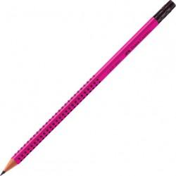 Μολύβι Faber grip 2001 Ροζ με γόμα
