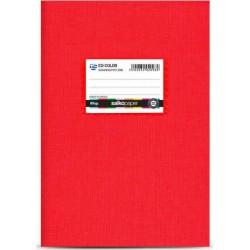 Salko Paper Τετράδιο 50φυλλο EX-Color Κόκκινο